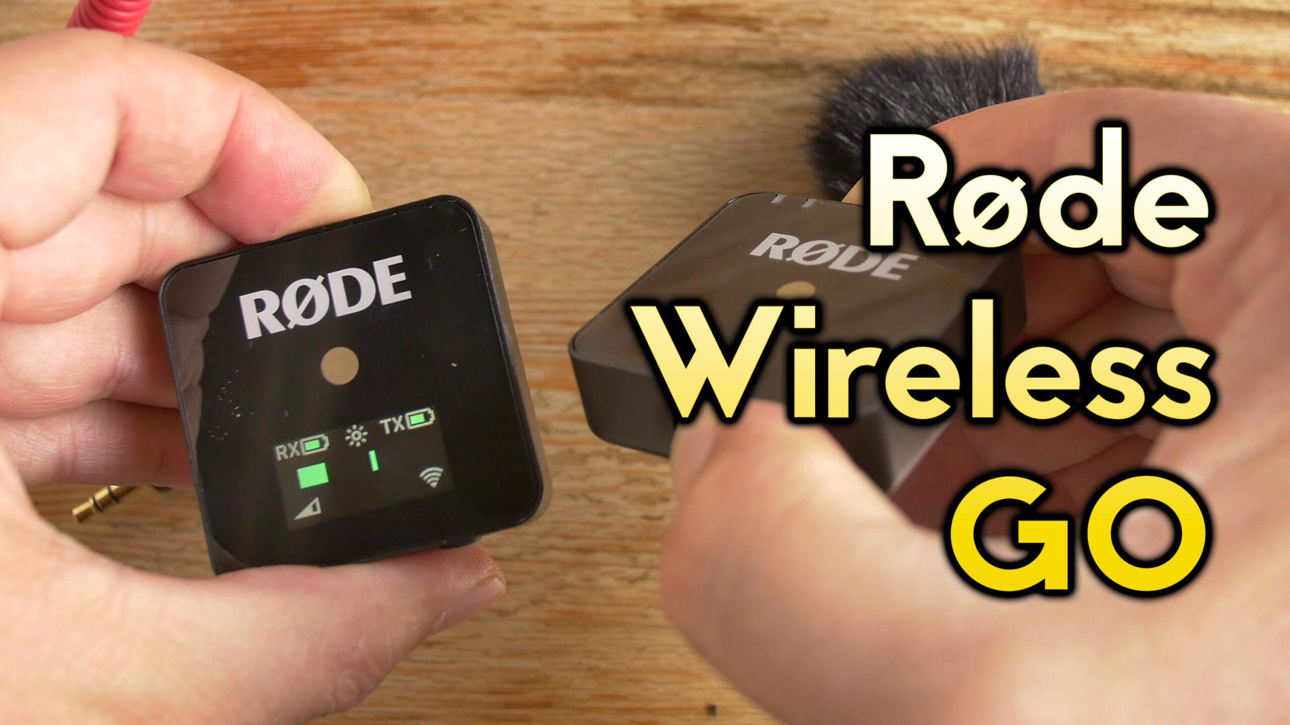Review del micrófono inalámbrico Røde Wireless GO