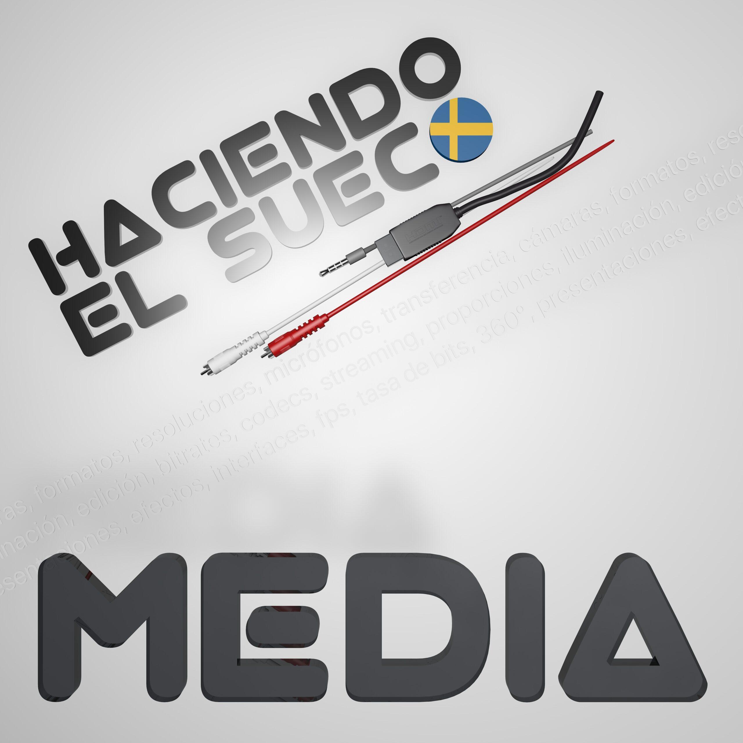 Nuevo podcast: Haciendo el Sueco MEDIA, un podcast sobre creación multimedia