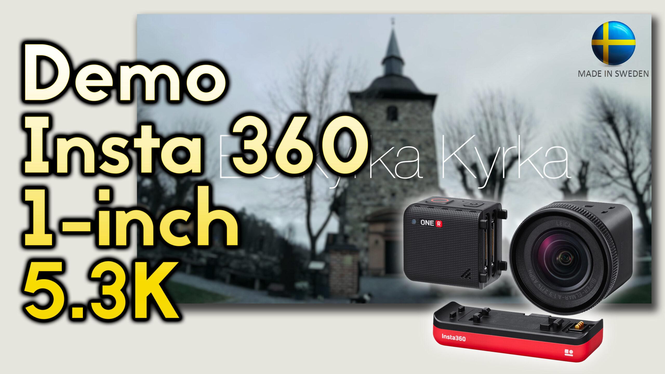 Demostración cinemática de la Insta360 ONE R – Módulo de 1 pulgada a 5.3K
